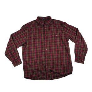 Pendleton Pioneer plaid button up shirt